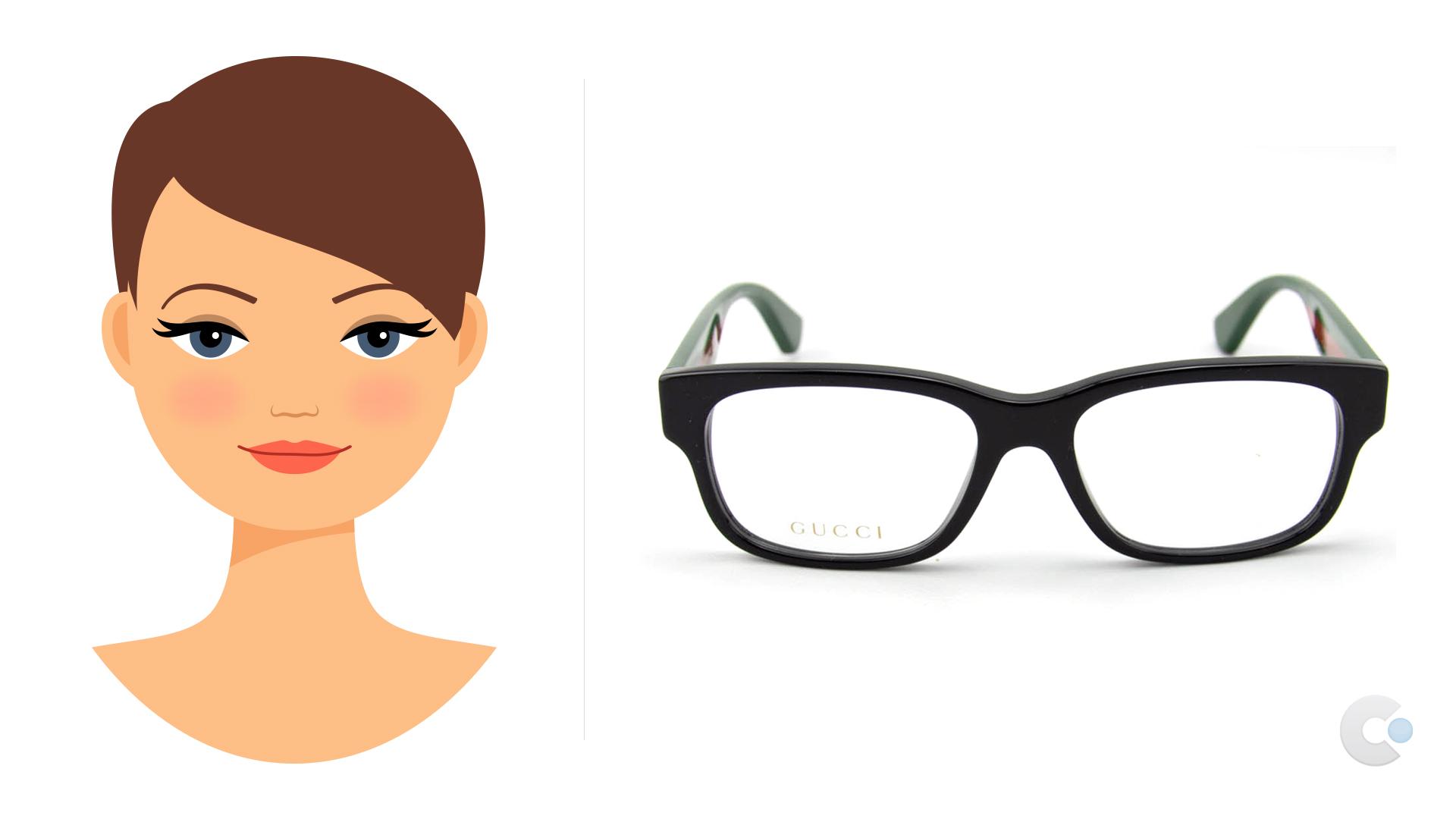 occhiali da vista per viso rotondo